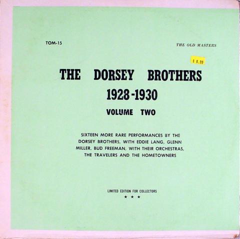 "The Dorsey Brothers Vinyl 12"""