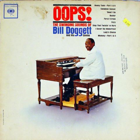 "Bill Doggett and His Combo Vinyl 12"""