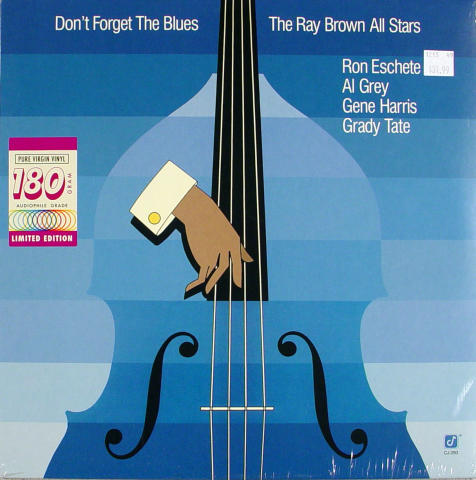 """The Ray Brown All Stars Vinyl 12"""""""