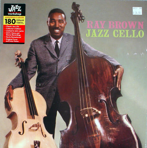 "Ray Brown Vinyl 12"" (New)"