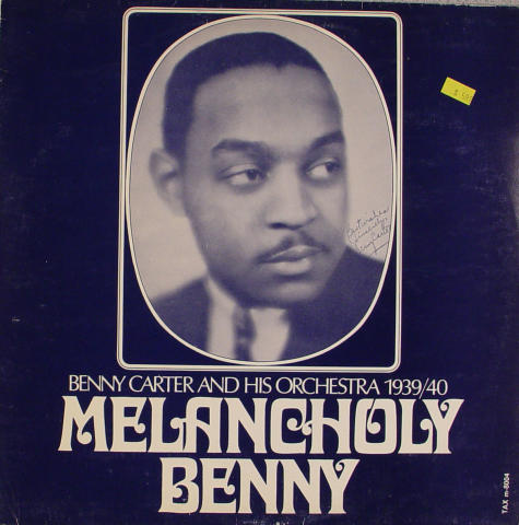 """Benny Carter And His Orchestra Vinyl 12"""""""