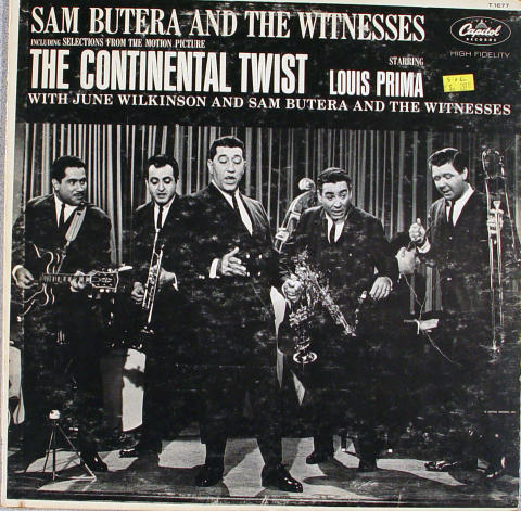 """Sam Butera And The Witnesses Vinyl 12"""""""