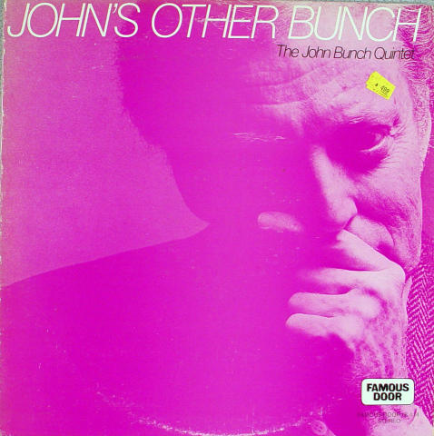 "The John Bunch Quintet Vinyl 12"""
