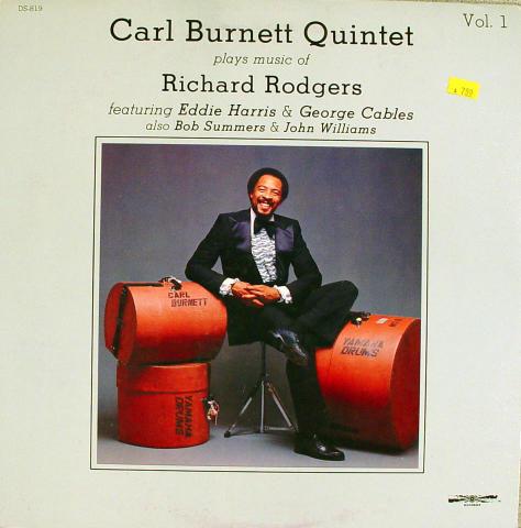 """Carl Burnett Quintet Vinyl 12"""""""