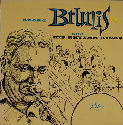 """Georg Brunis And His Rhythm Kings Vinyl 12"""""""