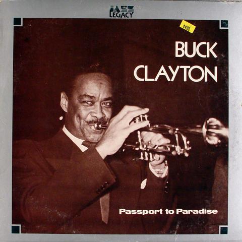 "Buck Clayton Vinyl 12"""