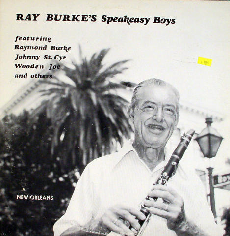 "Ray Burke's Speakeasy Boys Vinyl 12"" (Used)"