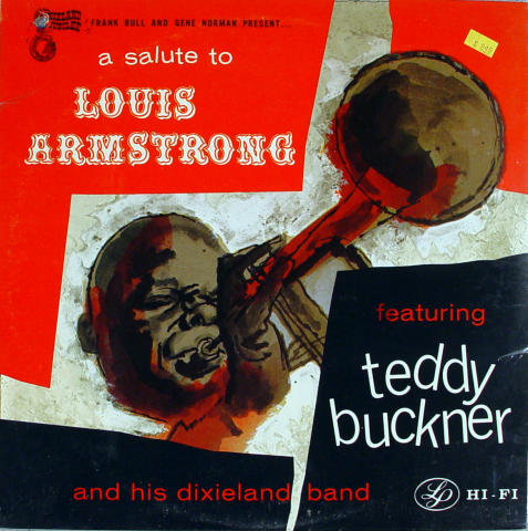 Teddy Buckner And His Dixieland Band Vinyl 12""