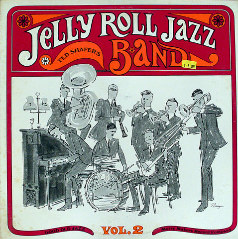 """Ted Shafer's Jelly Roll Jazz Band Vinyl 12"""""""