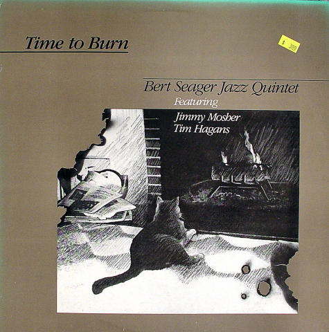 "Bert Seager Jazz Quintet Vinyl 12"""