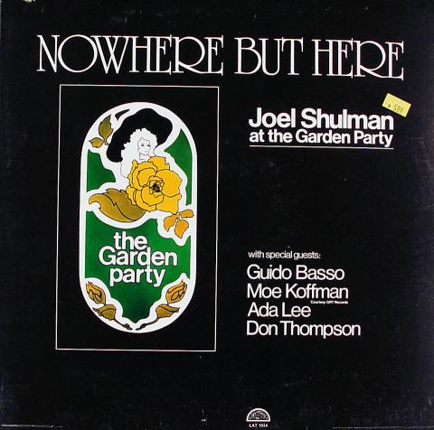 "Joel Shulman Vinyl 12"""