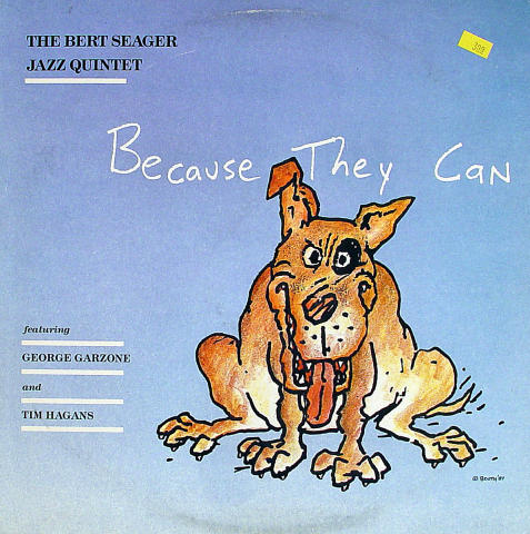 "The Bert Seager Jazz Quintet Vinyl 12"""
