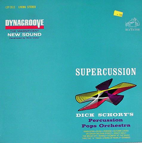 "Dick Schory's Percussion Pops Orchestra Vinyl 12"""