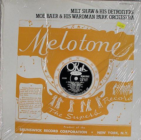 "Milt Shaw & His Detroiters Vinyl 12"""