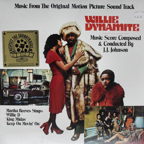 """Willie Dynamite Vinyl 12"""""""