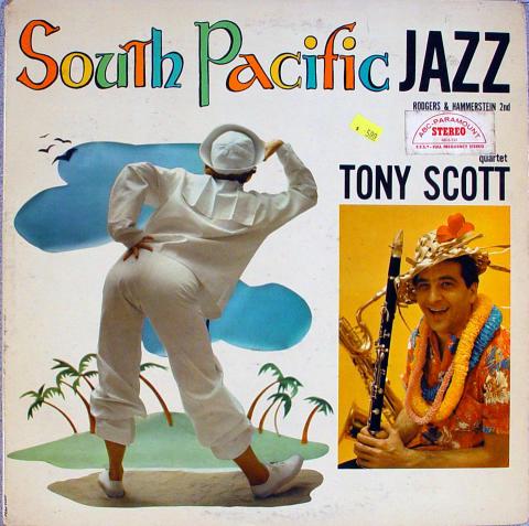 "Tony Scott Quartet Vinyl 12"""