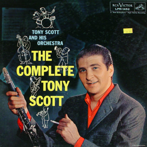 "Tony Scott And His Orchestra Vinyl 12"""