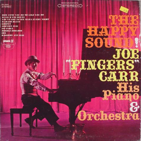 """Joe """"Fingers"""" Carr His Piano & Orchestra Vinyl 12"""""""