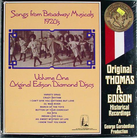 "Thomas A. Edison Vinyl 12"""