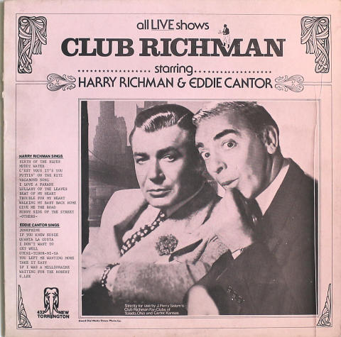"Club Richman Vinyl 12"""