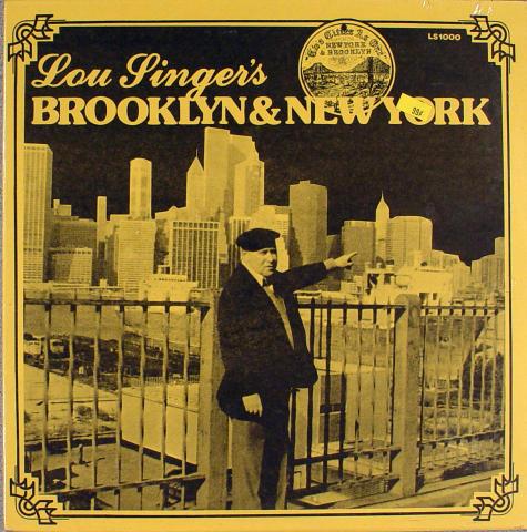 """Lou Singer Vinyl 12"""""""
