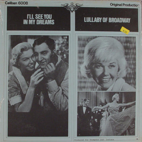 """I'll See You In My Dreams / Lullaby Of Broadway Vinyl 12"""""""