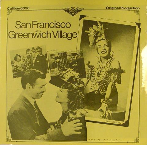 "Clark Gable Vinyl 12"""