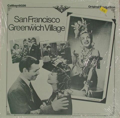 "San Francisco / Greenwich Village Vinyl 12"" (New)"