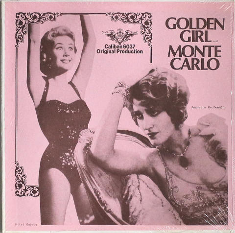 Golden Girl / Monte Carlo Vinyl 12""