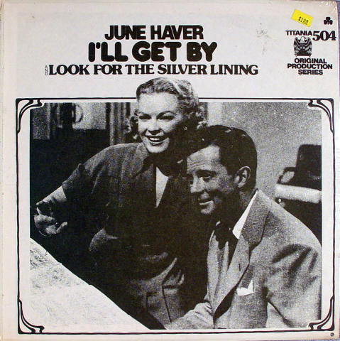 """I'll Get By / Look For The Silver Lining Vinyl 12"""""""