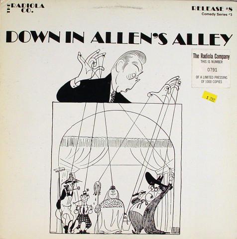 "Fred Allen Vinyl 12"""