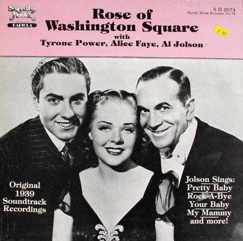 "Tyrone Power / Alice Faye / Al Johson Vinyl 12"" (Used)"