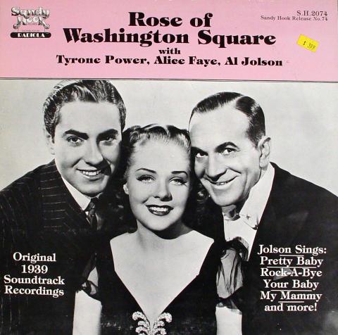 "Tyrone Power / Alice Faye / Al Johson Vinyl 12"""