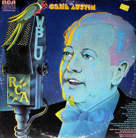 """Gene Austin Vinyl 12"""""""