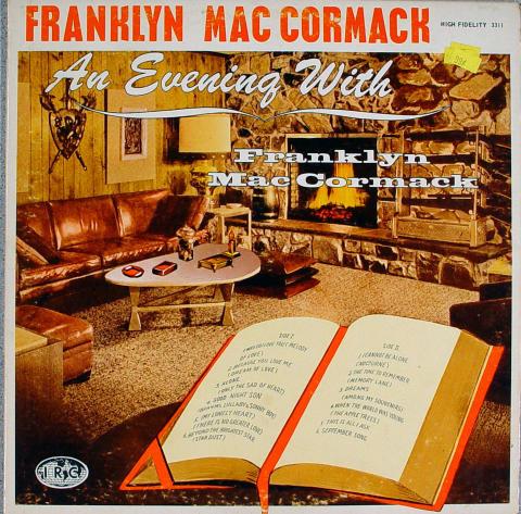 "Franklyn MacCormack Vinyl 12"""