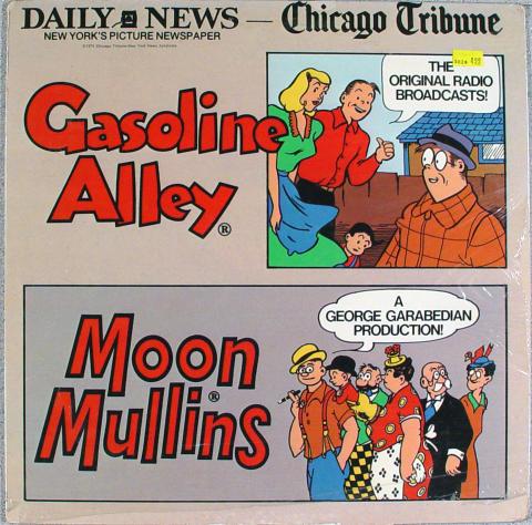 """Gasoline Alley Vinyl 12"""""""