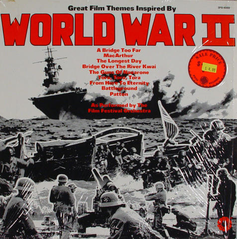 """Great Film Themes Inspired By World War II Vinyl 12"""""""