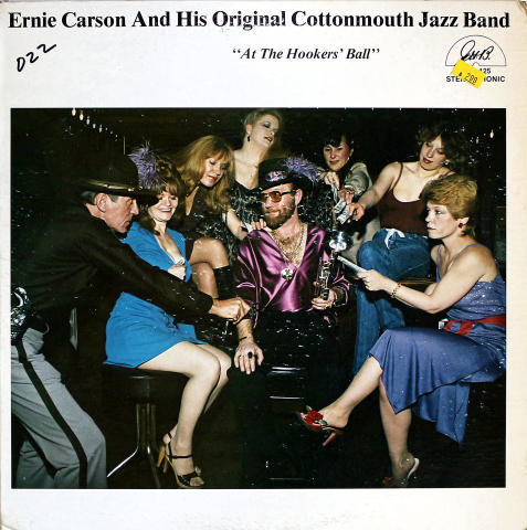 "Ernie Carson And His Original Cottonmouth Jazz Band Vinyl 12"""