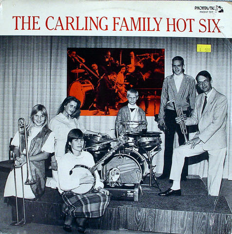 The Carling Family Hot Six Vinyl 12""