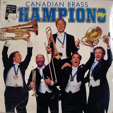 "Canadian Brass Vinyl 12"""