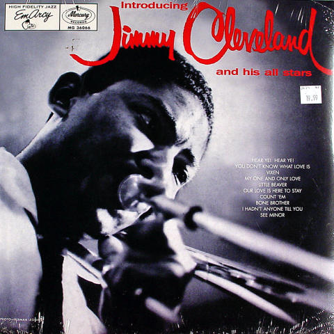 """Jimmy Cleveland And His All Stars Vinyl 12"""""""