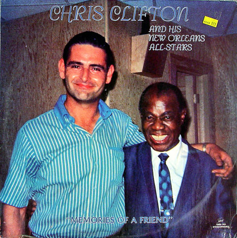 Chris Clifton And His New Orleans All-Stars Vinyl 12""