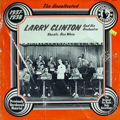 """Larry Clinton And His Orchestra Vinyl 12"""""""