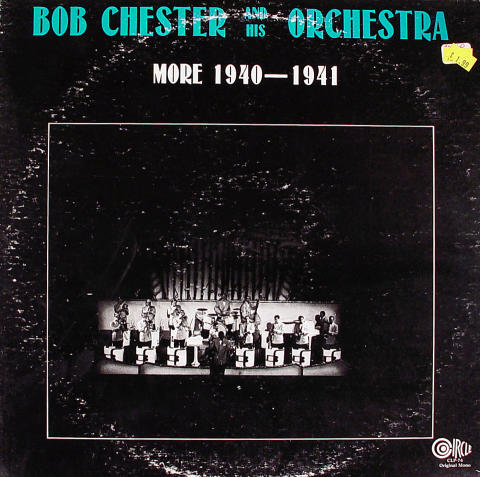 """Bob Chester And His Orchestra Vinyl 12"""""""