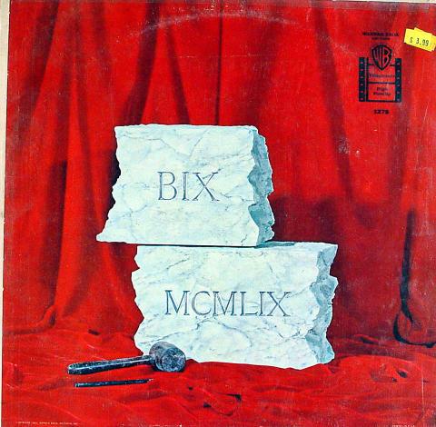 """BIX MCMLIX Vinyl 12"""""""
