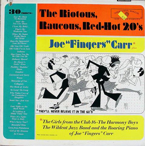 "Joe ""Fingers"" Carr Vinyl 12"""