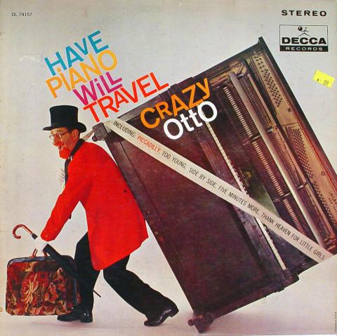 """Crazy Otto Vinyl 12"""""""
