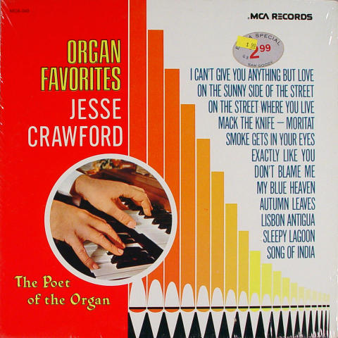 "Jesse Crawford Vinyl 12"""