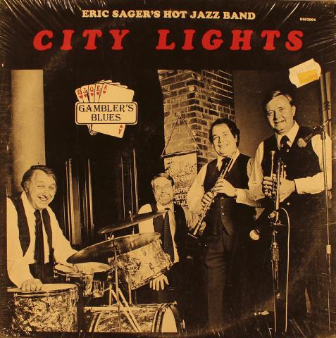 "Eric Sager's Hot Jazz Band City Lights Vinyl 12"""