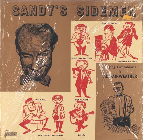 "Sandy's Sidemen Vinyl 12"""